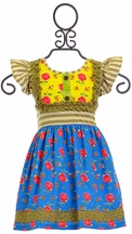 Mustard Pie Lennon Top for Girls (Size 18Mos)