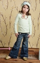 Mustard Pie Little Girl Jeans in Distressed Ophelia