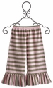 Mustard Pie Little Girls Delilah Pant Pink Stripe