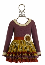 Mustard Pie Mia Tunic in Purple