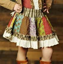 Mustard Pie Mix It Up Skirt for Girls