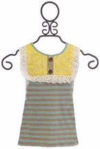 Mustard Pie Molly Girls Striped Tank Top