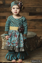 Mustard Pie Olivia Dress Set Harvest Splendor