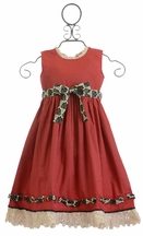 Mustard Pie Red Party Dress Bernadette