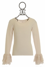 Mustard Pie Ruby Top in Ivory