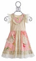 Mustard Pie Scrappy Ramona Girls Dress