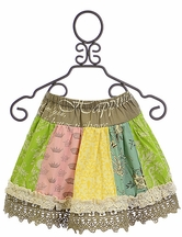 Mustard Pie Spring Mix it Up Girls Skirt