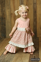Mustard Pie Sugar Blossom Olivia Dress Set