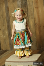 Mustard Pie Sunset Dunes Olivia Dress Set