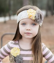 Mustard Pie Vintage Cream Script Alice Wrap Headband