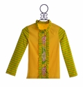 Mustard Pie Womens Cardigan in Yellow