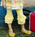 Mustard Pie Yellow Polka Dot Legging