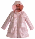 Oil and Water Ruffle Overcoat in Pink (2/3 & 6/7)