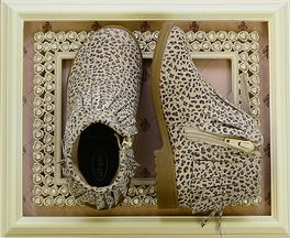 Old Soles Designer Girls Boots in Cat Print (11,13,1.5Y,4Y)