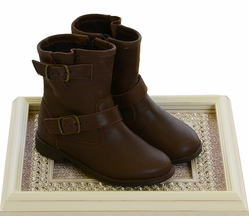 Old Soles Girls Highlander Brown Boots
