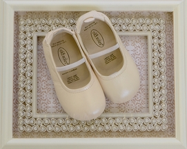 Old Soles Ivory Ballet Shoes for Baby