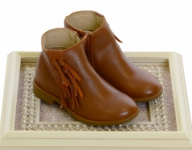 Old Soles Tan Boot with Fringe