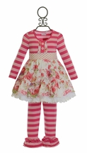 One Posh Kid Dainty Bloom Girls Dress with Legging