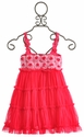 One Posh Kid Girls Pixie Fuchsia Bloom Dress