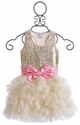 Ooh La La Couture Champagne Wow Dream Dress for Girls