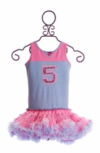 Ooh La La Couture Birthday Dress for Girls (12Mos & 18Mos)