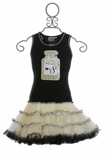 Ooh La La Couture Black Perfume Dress