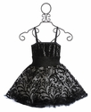 Ooh La La Couture Black Wow Lace Dress