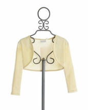 Ooh La La Couture Bolero for Girls Ivory