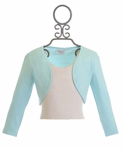 Ooh La La Couture Bolero in Ice Blue