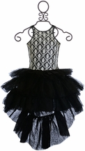 Ooh La La Couture Chloe Dress in Black