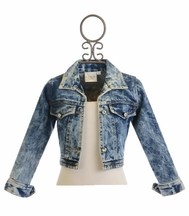 Ooh La La Couture Denim Jacket for Girls