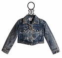Ooh La La Couture Designer Denim Jacket for Girls
