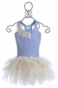 Ooh La La Couture Designer Dress for Girls in Blue