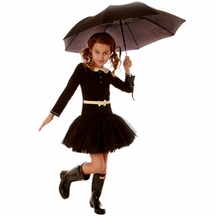 Ooh la la Couture Designer Dress with Tutu in Black
