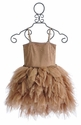 Ooh La La Couture Devin High Low Dress in Rose Gold