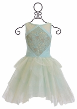 Ooh La La Couture Diamond Dress in Ice Blue