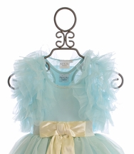 Ooh La La Couture Fancy Ruffle Shrug for Girls (5,6,6X/7)