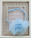 Ooh La La Couture Flower Headband Blue