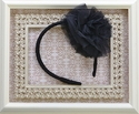 Ooh La La Couture Flower Headband in Black for Girls