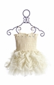 Ooh La La Couture Girls Ivory Dress