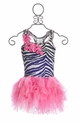 Ooh La La Couture Girls Party Dress Zebra