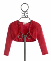 Ooh La La Couture Girls Red Bolero (18Mos,5,6,12)
