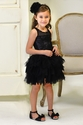 Ooh La La Couture Girls Sequin Tutu Dress in Black