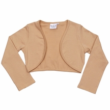 Ooh la la Couture Girls Shrug in Gold