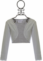 Ooh la la Couture Girls Silver Shrug