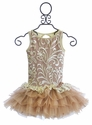 Ooh La La Couture Girls Special Occasion Dress in Champagne