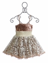 Ooh La La Couture Rose Gold Girls Party Dress Wow Pouf