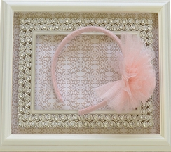 Ooh La La Couture Headband for Girls in Blush