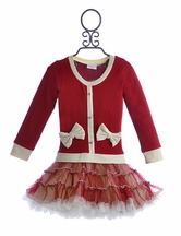 Ooh La La Couture Christmas Ho Ho Dress for Girls