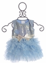 Ooh La La Couture Infant Dress in Blue